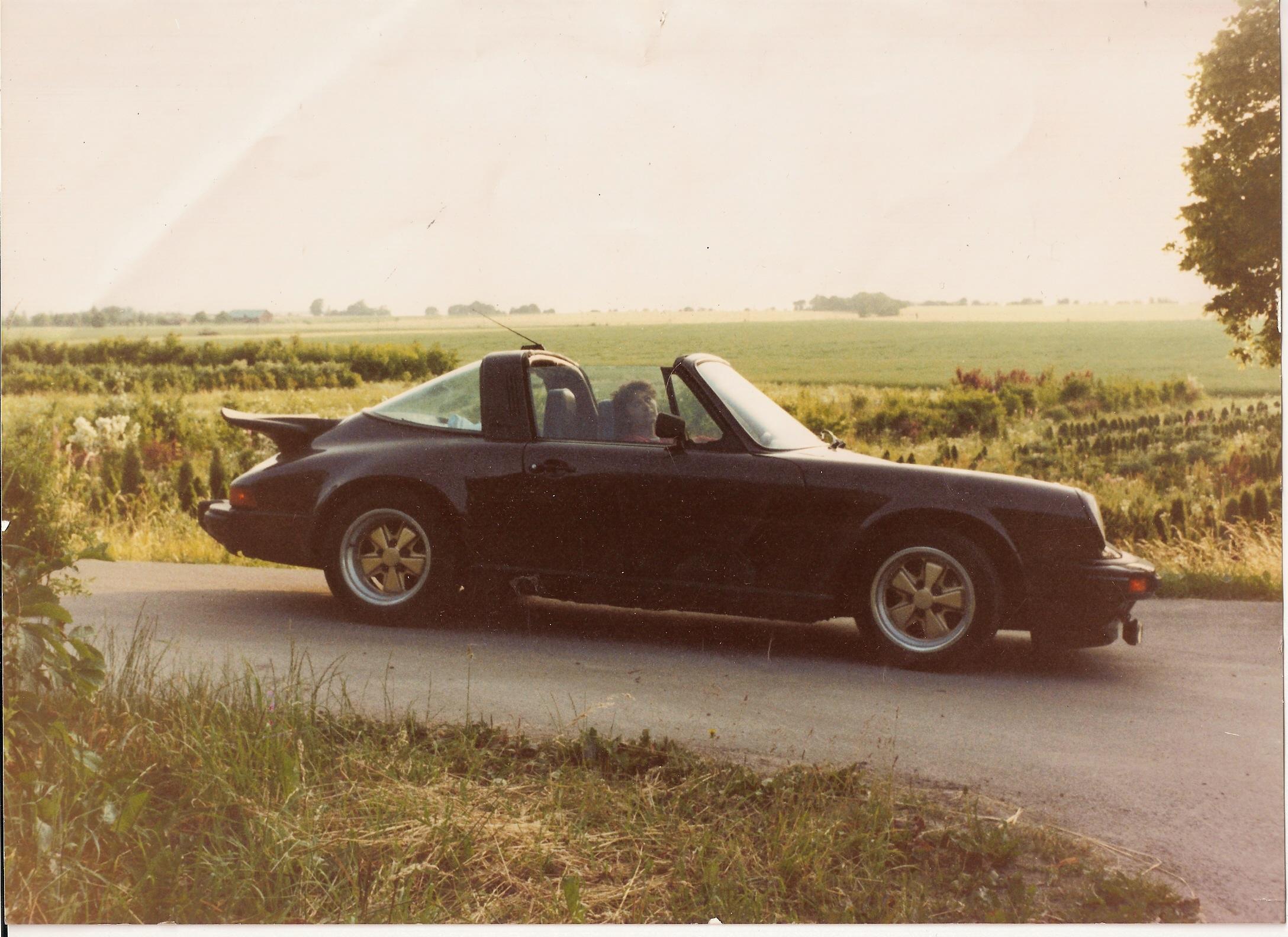 Tack vare Porschen blev jag inblandad i svensk racing