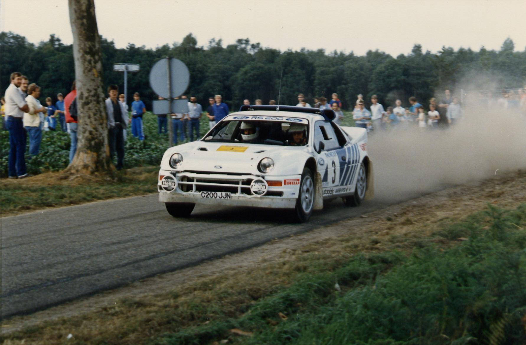 Stig Andervang berättar – I South Swedish Rally 1986 blev jag förbannad på Fords stallchef