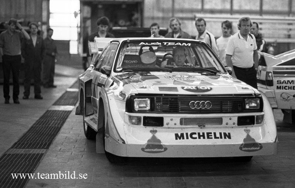 Rally nu och innan Audi lanserade Quattro