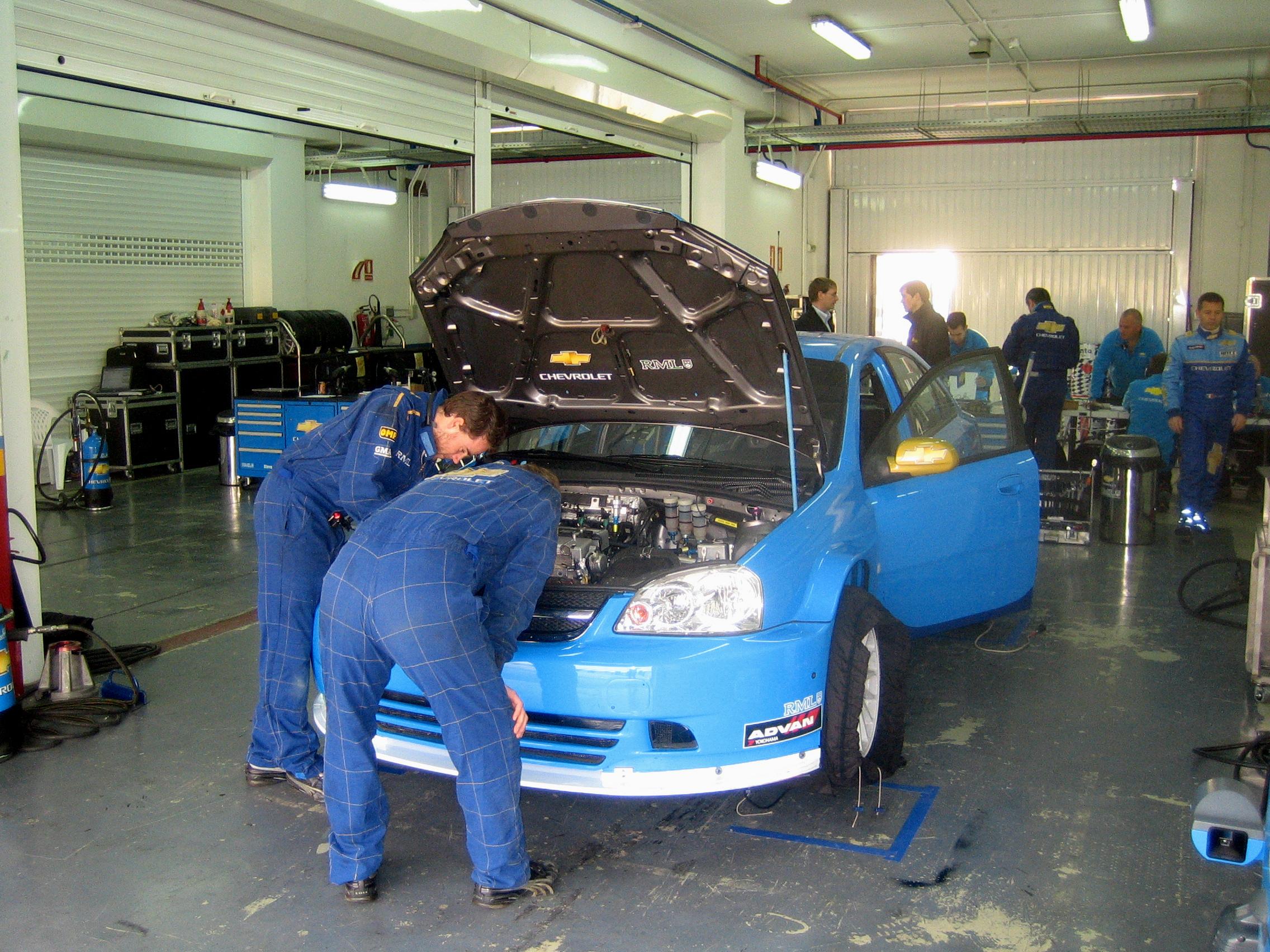 Att starta ett STCC-team del 3 � Bilk�pet