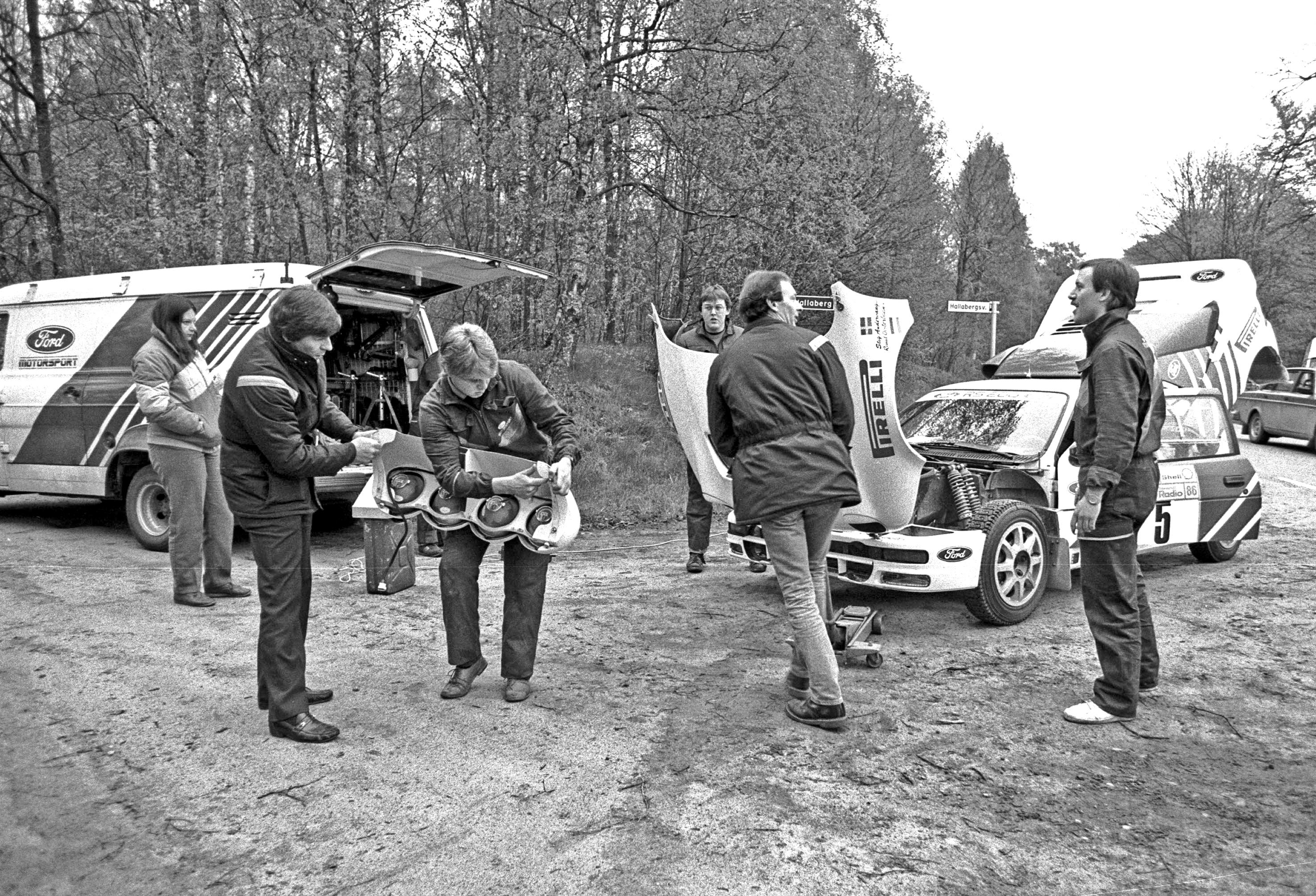 Stig Andervang från Fritsla tog sig hela vägen till välbetald fabriksförare för Ford