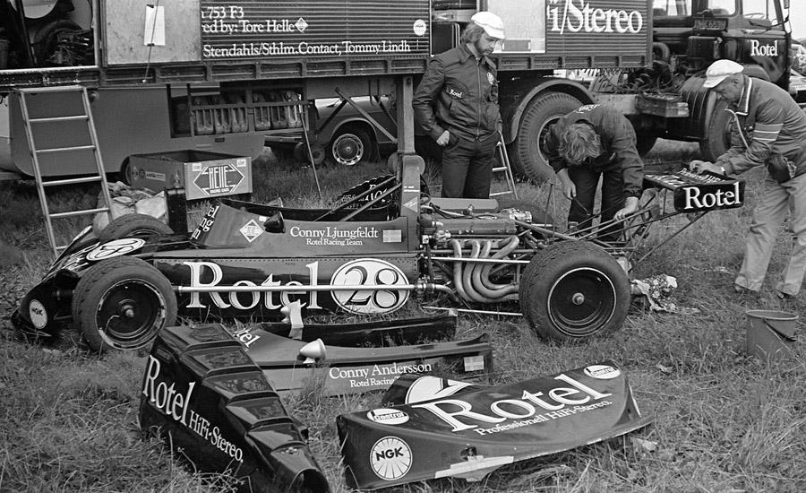 Tommy �Slim� Borgudd � en av f� svenskar som t�vlat i F1