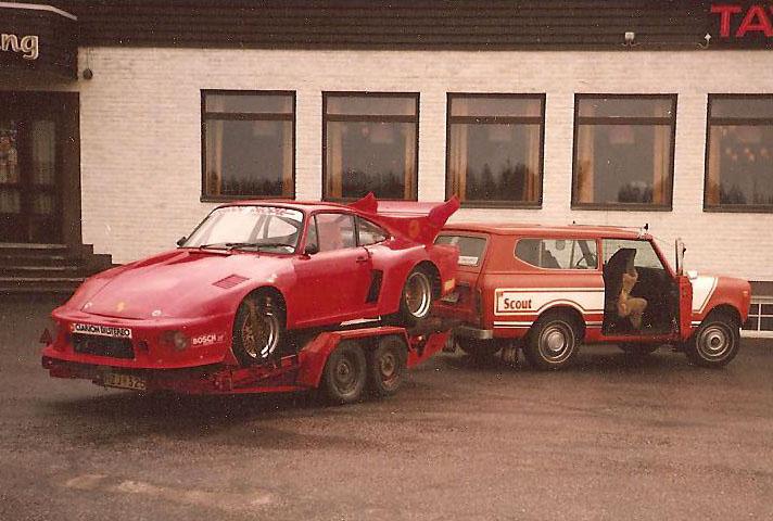 Resan till N�rburgring - en riktig bilhistoria del 1