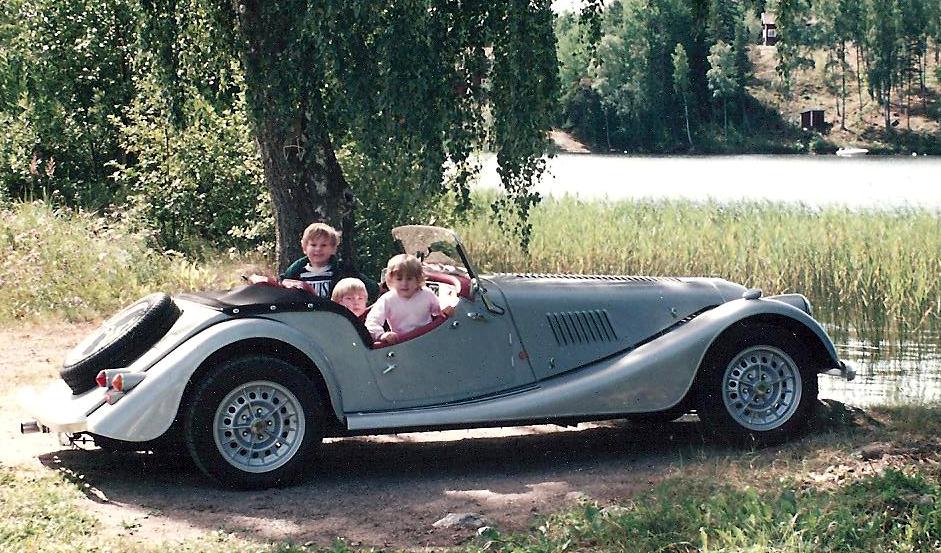 Morgan – en perfekt bil för en småbarnsfar