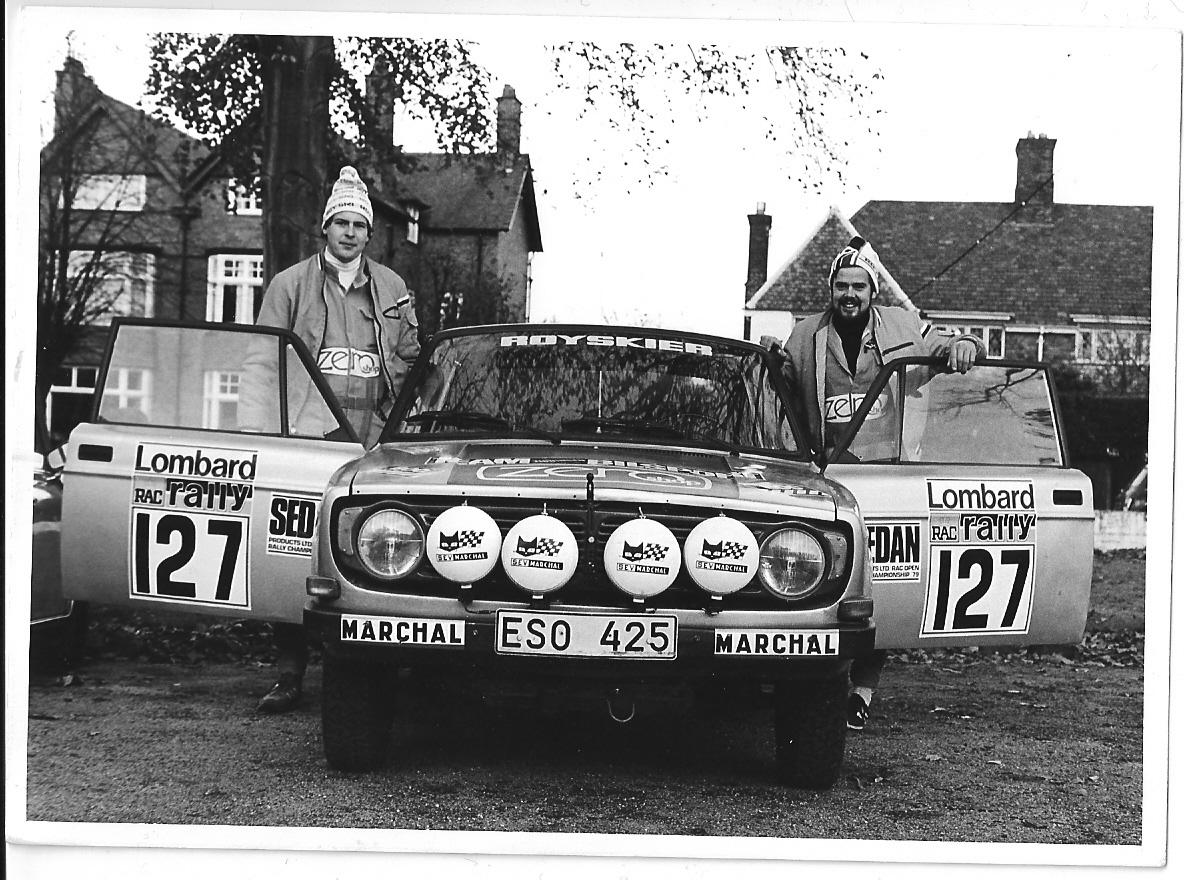 VM-deltävlingen RAC-rallyt 1979 - ett riktigt äventyr - del 1