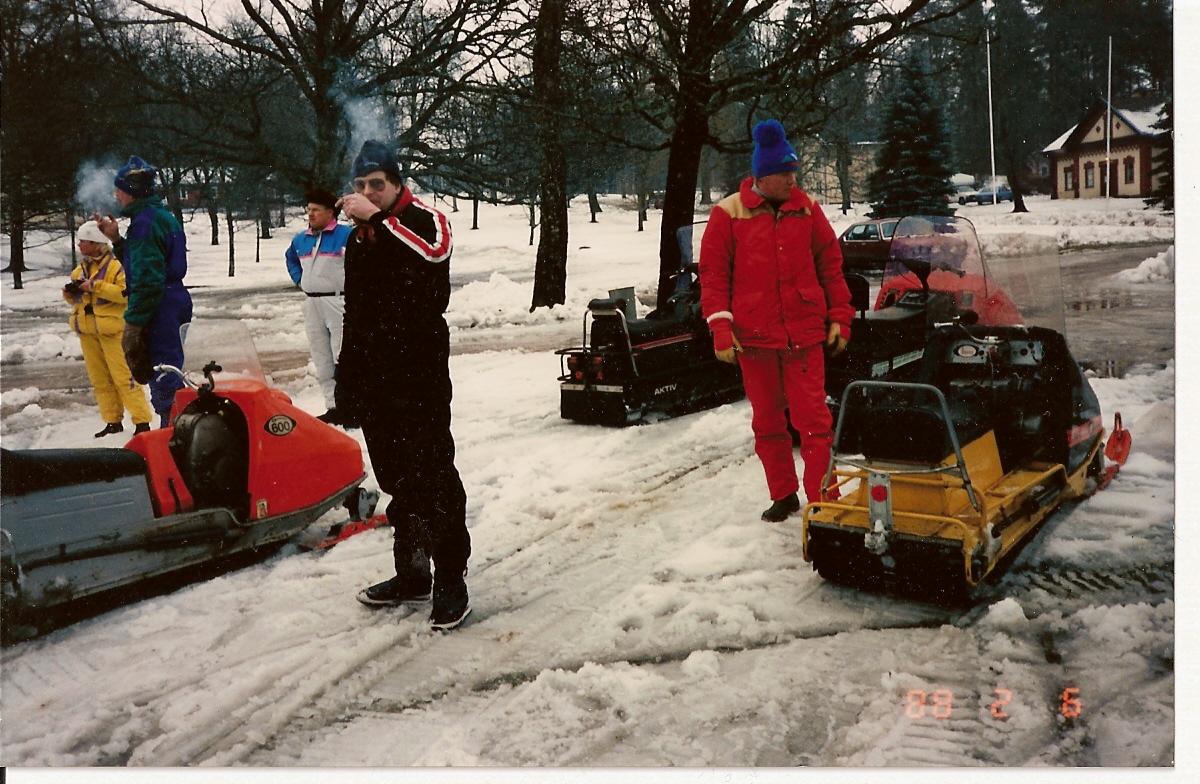 Ett äventyrligt event i Värmlandsskogarna i samband med Svenska Rallyt 1988
